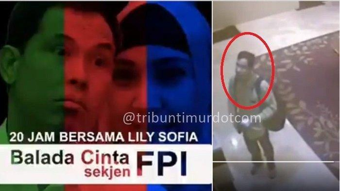 MISTERI Siapa Lily Sofia di Video Viral Balada Cinta Sekjen FPI, Istri Pertama Munarman Saksi Kunci