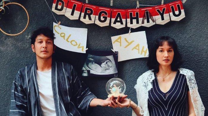 Nadine Chandrawinata rayakan ulang tahun Dimas Anggara