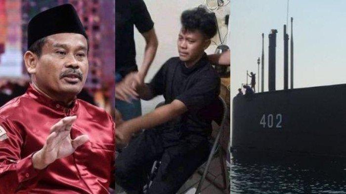 TAK Punya Hati Bicara Negatif Soal KRI Nanggala, Nasib 3 Pria Ini Apes, Dicambuk & Terancam Penjara