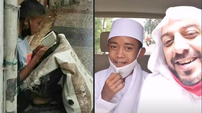 REZEKI Pemulung Viral Baca Alquran, Diangkat Anak Syekh Ali Jaber, Umrah & Disiapkan Jadi Imam Besar
