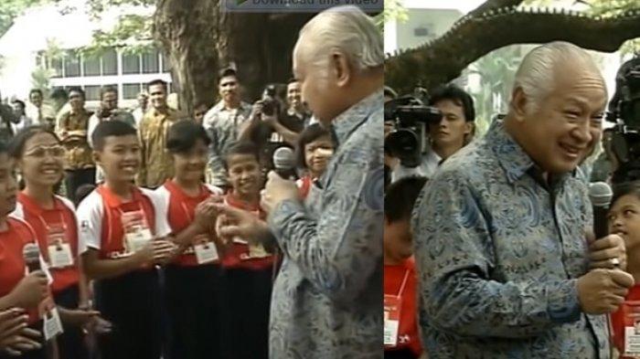 Bocah Pemberani Tanya ke Soeharto 'Mengapa Presiden Cuma 1?', Kini 27 Tahun Berlalu Begini Nasibnya