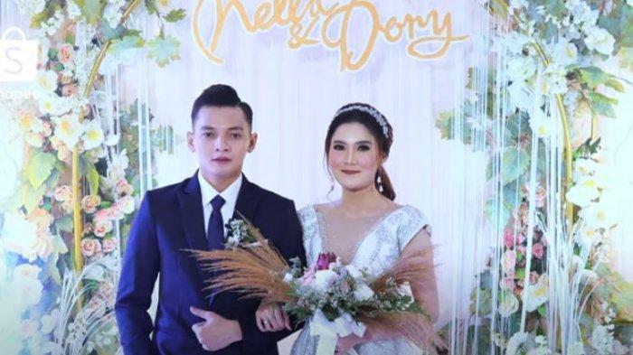 Nella Kharisma dan Dory Harsa resmi menikah 15 Agustus 2020 lalu