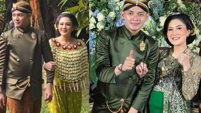 POTRET 7 Bulanan Nella Kharisma, Istri Dory Anggun Berkebaya Hijau, Semringah Pamer Perut Buncit