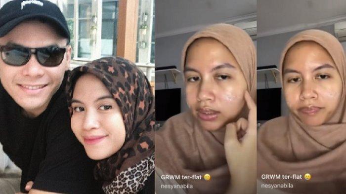 Ungkap Wajah Asli Tanpa Make Up, Nesya Nabila Istri Ben Kasyafani: Alhamdulillah Aku Bisa Nerima