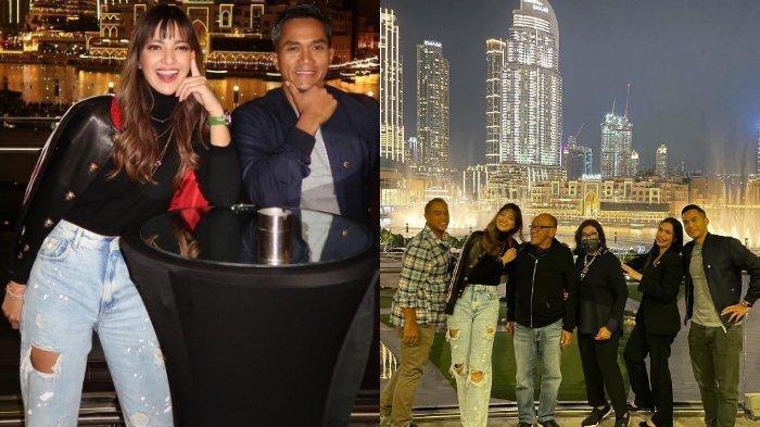 LIBURAN ke Dubai Pakai Celana Jeans Belel, Nia Ramadhani Jadi Sorotan, Lihat Tatapan Aburizal Bakrie