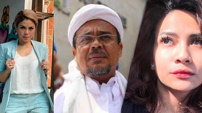 Nikita Mirzani Pertanyakan Kesehatan Habib Rizieq, Vanessa Angel Flashback, 'Aku Hamil Besar Datang'