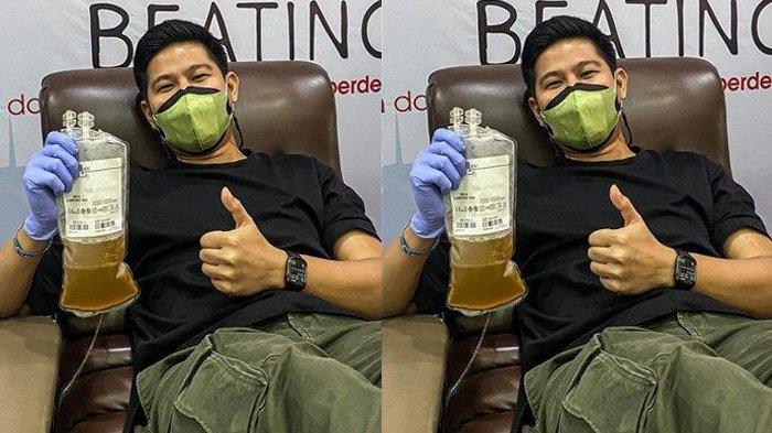 RELA Donorkan Plasma Konvalesen, Nino RAN Syukur Sembuh Covid-19, Semoga Bermanfaat Bagi Orang Lain
