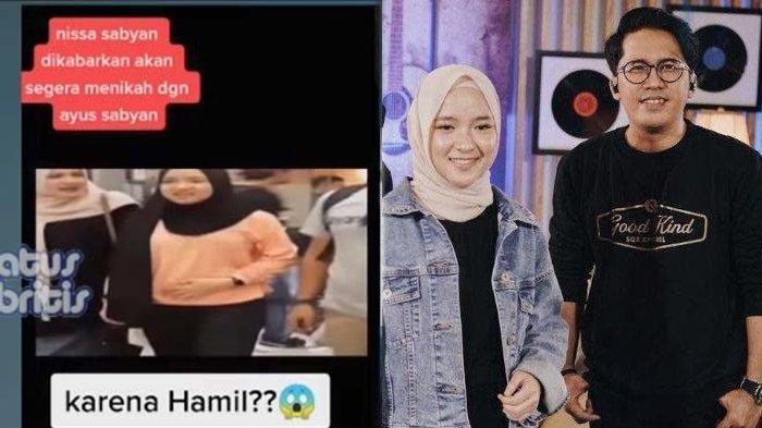 TEKA-TEKI Isu Nissa Sabyan Hamil Anak Ayus Akhirnya Terjawab, eks Manajer Ungkap Fakta: 2 Tahun Lalu