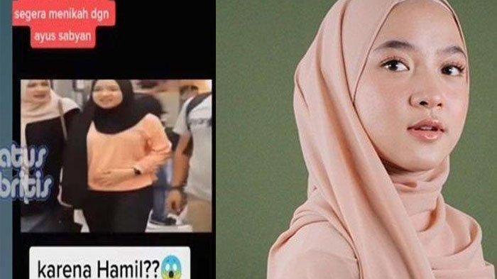 FAKTA ASLI Rumor Hamil di Video Nissa Sabyan Elus Perut, Tebe Eks Sabyan Cerita yang Sebenarnya