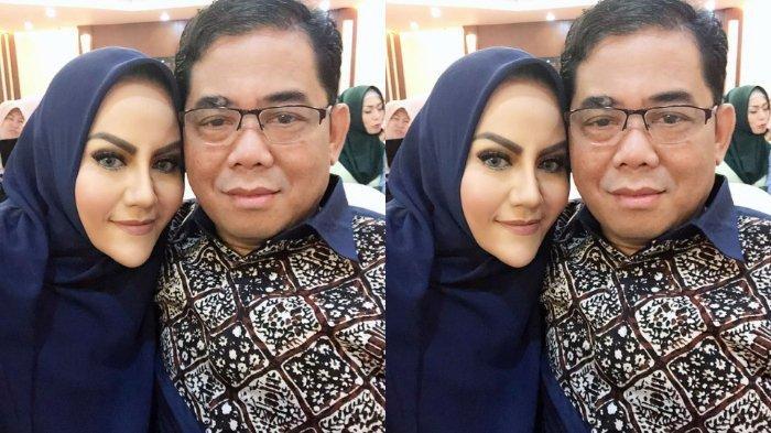 Menyesal, Nita Thalia Menangis di Depan Jenazah Nurdin Rudythia: 20 Tahun Belum Jadi Istri yang Baik
