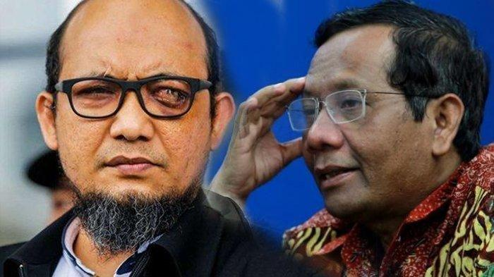 Sketsa Wajah Penyerang Novel Baswedan Dinilai Janggal & Meragukan, Ini Tanggapan Mahfud MD