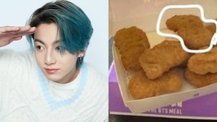 Heboh Nugget Ayam yang Bentuknya Dibilang Mirip Jungkook BTS, Sampai Dijual Seharga 500 Ribu