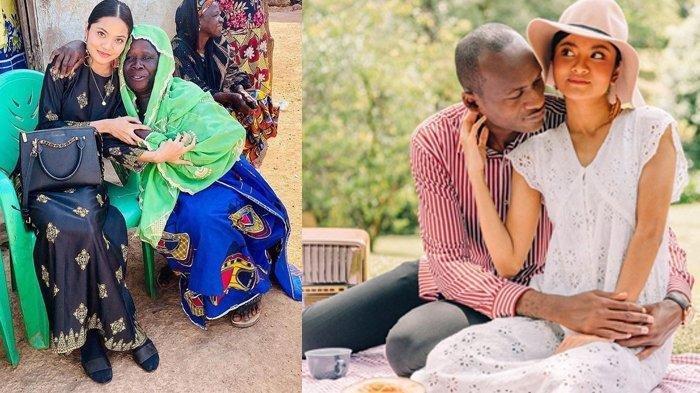 Nur Afilah diboyong suami ke Afrika diperlakukan bak puteri raja