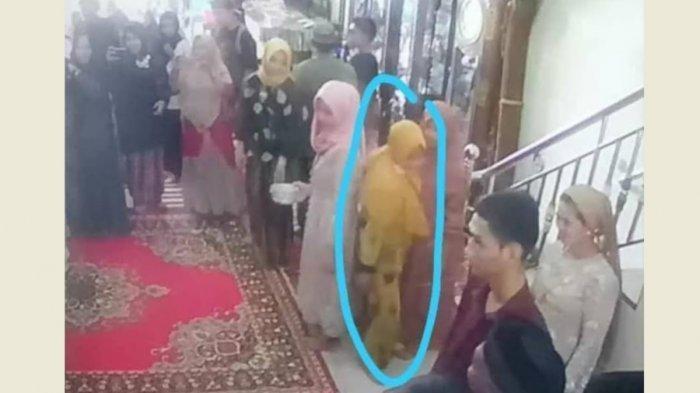 PENYAMARAN Emak-emak saat Curi Emas 30 Gram & Uang Rp 10 Juta di Nikahan, Lolos Lewat Pintu Belakang