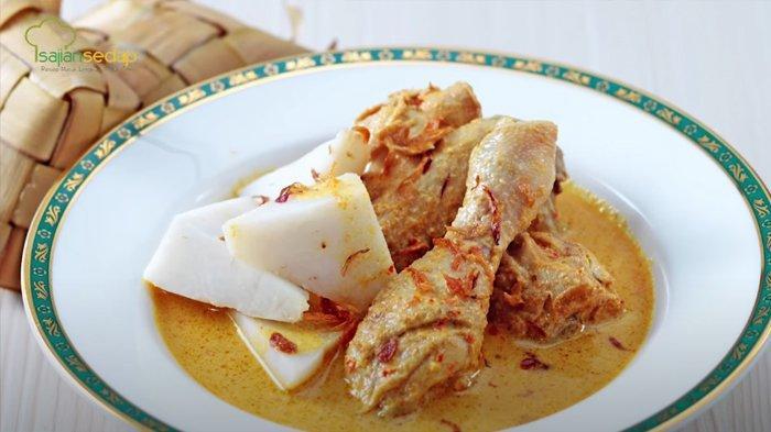 COCOK Disajikan Saat Lebaran Idul Adha 1442 H, Ini Resep Opor Ayam Pedas, Gampang Cara Membuatnya