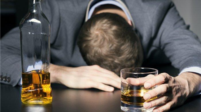 Ilustrasi mabuk karena minuman beralkohol