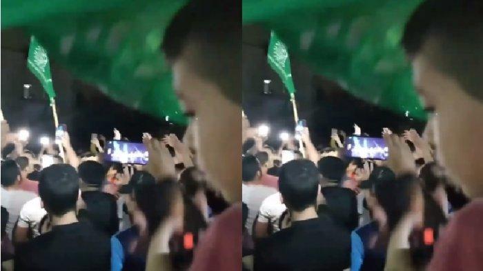 BREAKING NEWS! Video Warga Palestina Bersorak Usir Tentara Israel dari Gaza, Bendera Hamas Berkibar