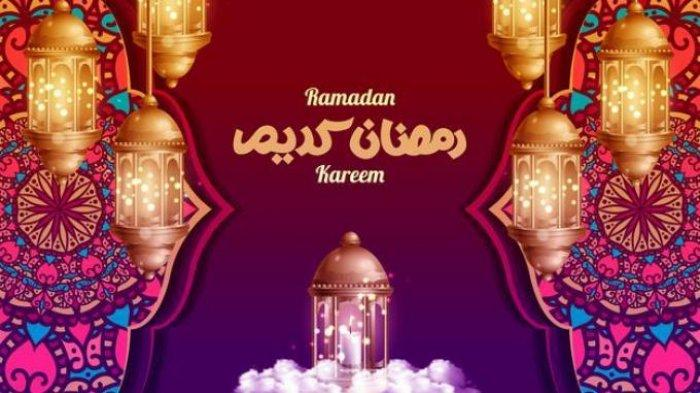 Ilustrasi Ramadhan 2021.