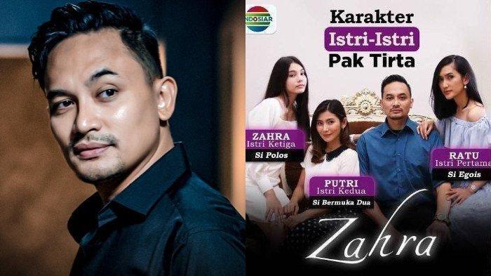 PROFIL Panji Saputra, Pemeran Pak Tirta di Sinetron Zahra 'Suara Hati Istri' Indosiar, Cuek Dicibir