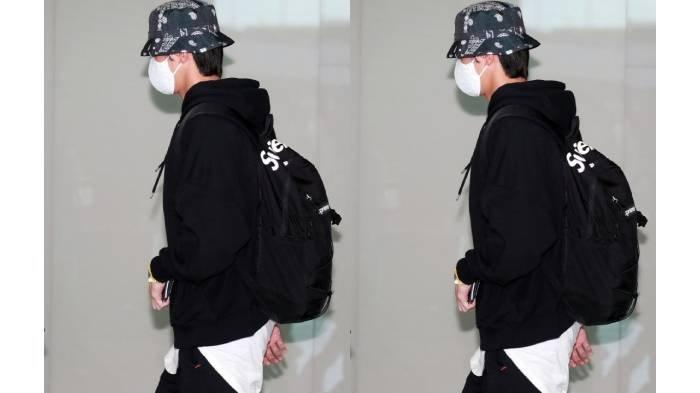 Park Seo Joon di bandara Incheon