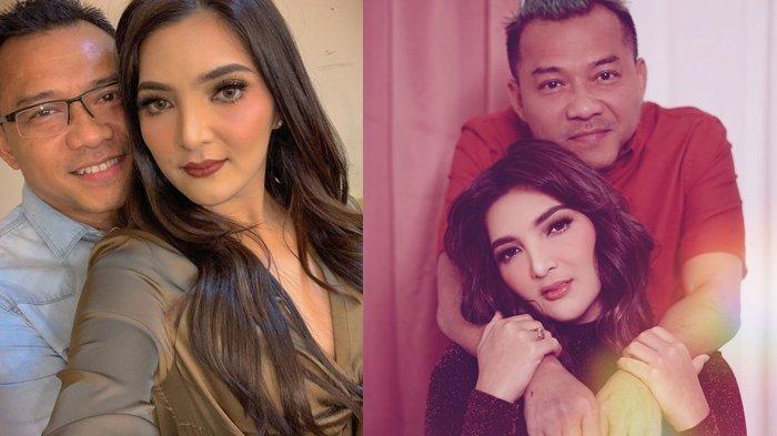 Pasangan Ashanty dan Anang Hermansyah