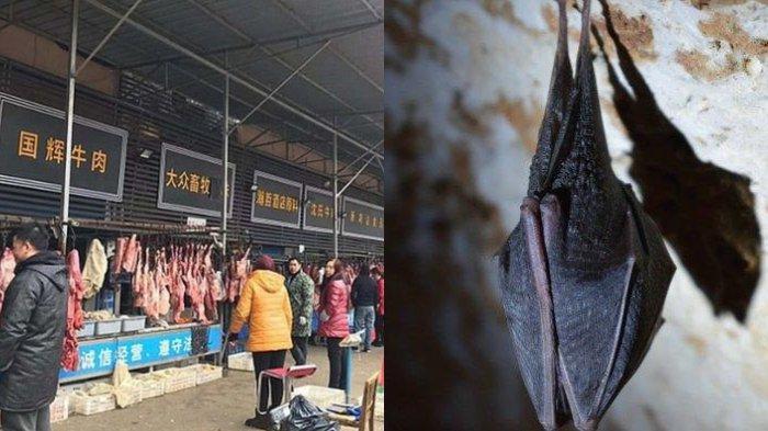 Pulih dari Corona & Lockdown Baru Dibuka, Pasar Wuhan Jual Daging Kelelawar Lagi, Tak Ada Kapoknya?