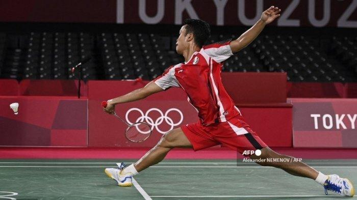 JADWAL Semifinal Badminton Olimpiade Tokyo 2020 Anthony Ginting vs Chen Long, Live di TVRI