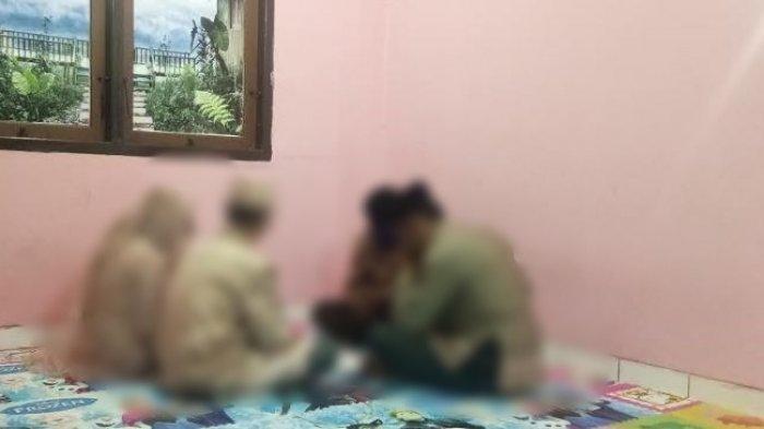 Pelaku Pencabulan Terus Menangis Menikah di Kantor Polisi, Ternyata Mempelai Wanita Adalah Korbannya