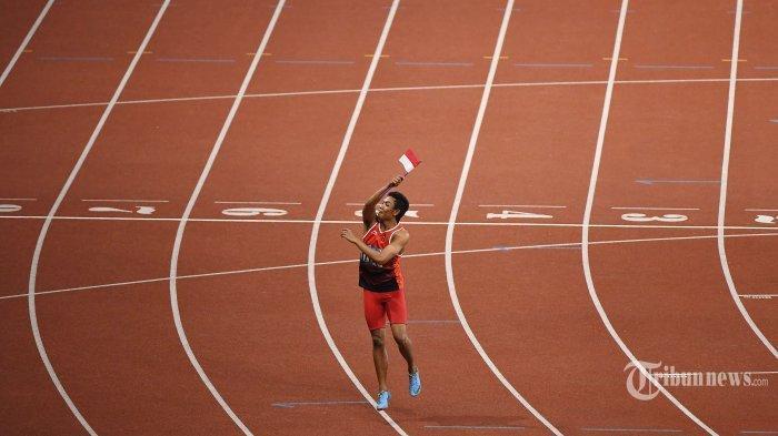 Live Streaming Aksi Sprinter Lalu Muhammad Zohri di Olimpiade Tokyo 2020, Tayang di TVRI & Indosiar