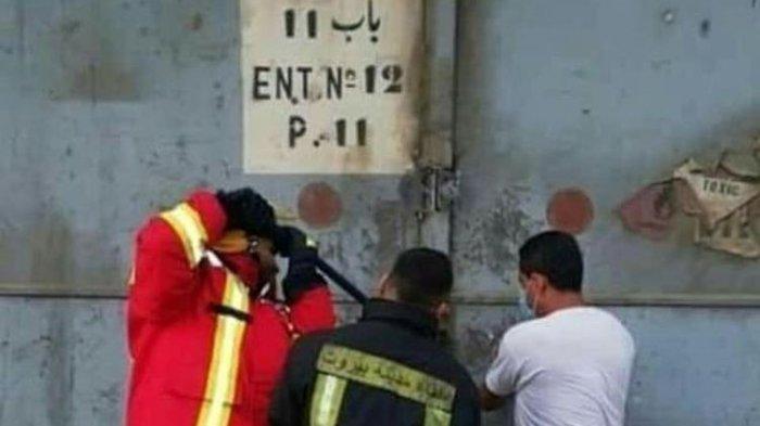 Potret Terakhir 3 Pemadam Kebakaran saat Dobrak Pintu Gudang Amonium Nitrat Sebelum Ledakan Dahsyat