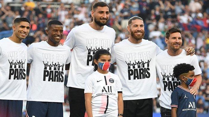JADWAL Liga Prancis 2021/2022 Pekan ke-3, Lionel Messi Belum Bisa Dimainkan PSG/Paris Saint-Germain