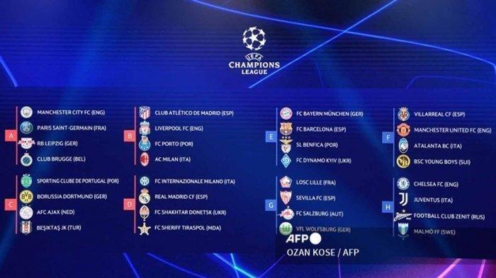 JADWAL Liga Champions Liverpool vs AC Milan, Barcelona vs Bayern Munchen, Inter Milan vs Real Madrid