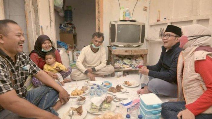 Sentuh Hati Ridwan Kamil, Pemulung Viral Bawa Bayi Ketiban Rezeki, Kini Dapat Pekerjaan Baru