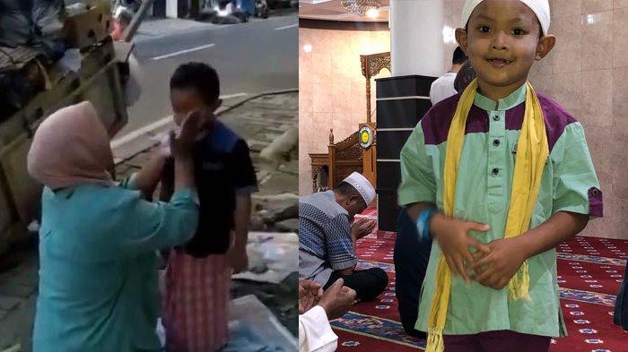 Viral Kisah Haru Pemulung Dandani Anaknya Sebelum ke Masjid, Selalu Tepat Waktu & Berjamaah