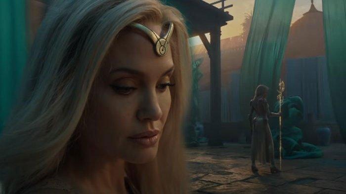 Memukau, Intip Penampilan Angelina Jolie dalam Teaser Film Eternals yang Baru Saja Dirilis Marvel