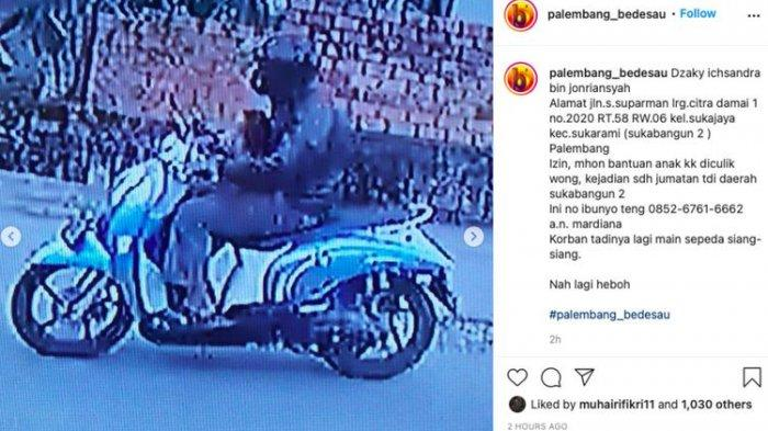 Pecatan TNI Ternyata Dalang Penculikan Bocah di Palembang, Nyali Menciut Waktu Aksinya Viral Duluan