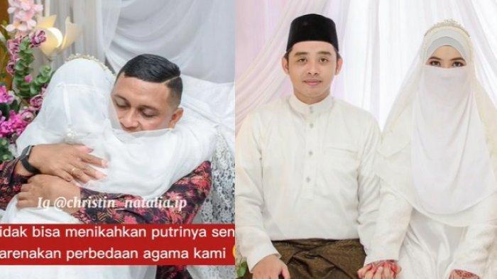 VIRAL Pendeta Datangi Pernikahan Anaknya yang Muslim, Tangis Haru Pecah saat Sungkeman