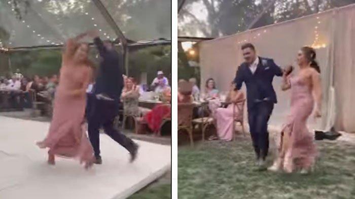 Terlalu Semangat Dansa, Pasangan Pengantin Malah Apes Setelah Lakukan Hal Nekat Ini, Menanggung Malu
