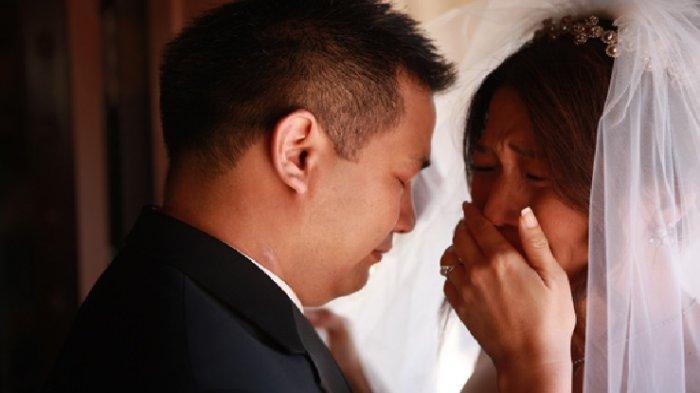 CUMBUI Mempelai Wanita di Ranjang Pengantin, Suami Syok, Istri Mendadak Sesak Nafas dan Meninggal