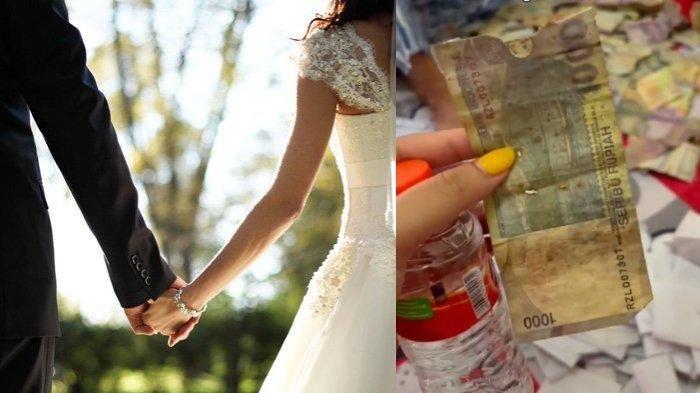 MALAM PERTAMA Pengantin Baru Hitung Duit Amplop di Ranjang, Syok Isi Cuma Rp 1.000 'Kumal & Bolong'