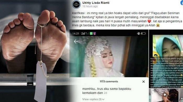 Pengantin Wanita Ambruk & Meninggal Satu Jam Sebelum Ijab, Pernikahan Berubah Menjadi Takziah