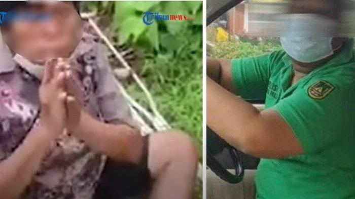 Viral Oknum Satpol PP Merampas Uang Pengemis, Korban Sampai Histeris dan Ditinggalkan di Jalanan