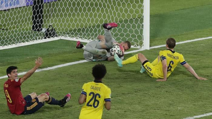 Laga Spanyol vs Polandia Grup E Euro 2020, Mendieta Ingin Lihat 2 Pemain Ini Bermain di Lini Depan