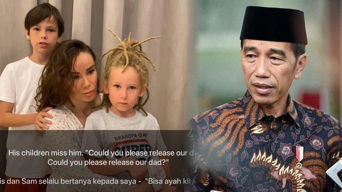 PILU Ayah Dipenjara, 2 Anak Penyanyi Rusia Ini Memohon ke Presiden Jokowi: Tolong Bebaskan Ayah Kami