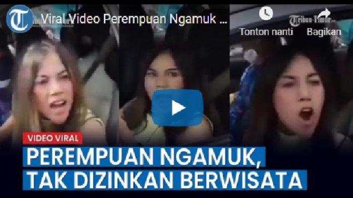 Yang di Sukabumi Baru Minta Maaf, Muncul Lagi Wanita Ngomel-ngomel Tolak Penyekatan 'Istigfar Mbak!'