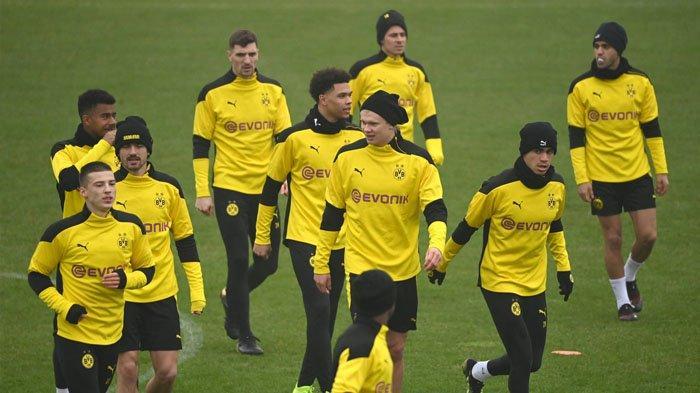 Laga Dortmund vs Sevilla di Leg Kedua 16 Besar Liga Champions, Reus Optimis, Haaland Siap Beraksi