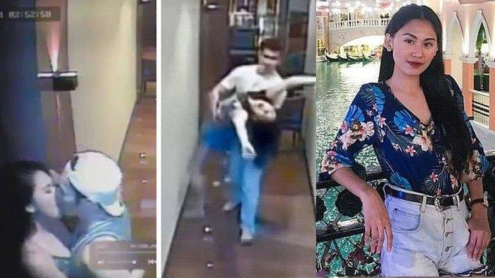 KESAKSIAN Pria yang Terekam CCTV Mencium Pramugari Angelica Dacera Sebelum Ditemukan Tewas di Hotel
