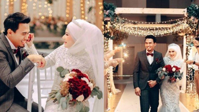 Pernikahan Iqmi dan Nor digelar meriah