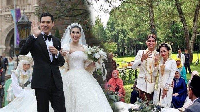 6 Pasangan Artis Gelar Pernikahan Unik: Andien di Tengah Hutan, Ada yang Berasa Piknik, Banyak Tenda