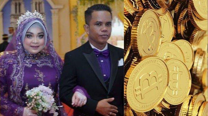 Pernikahan Viral Tenri & Raja Mahar 2 Keping Bitcoin Total Rp 1,6 M, Kenal Setahun Langsung Dilamar